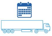 Перевозка грузов по заранее составленному графику
